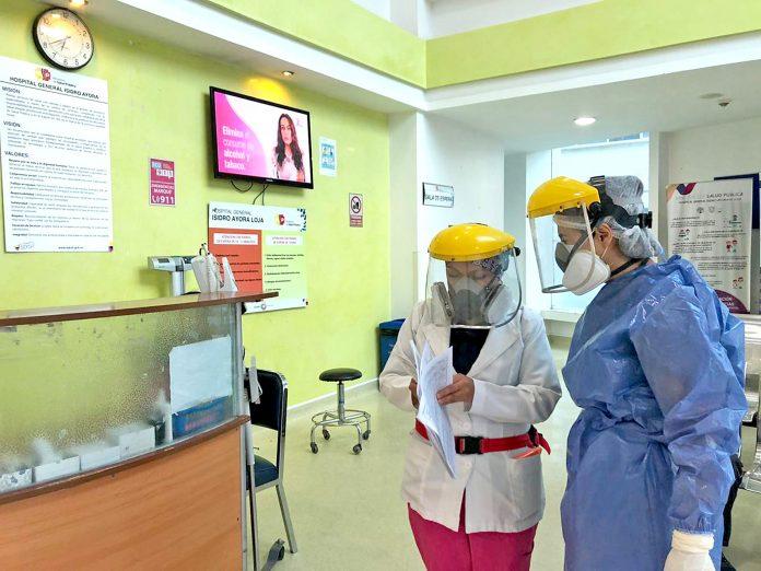 Casos positivos de Coronavirus se atienden en los hospitales públicos