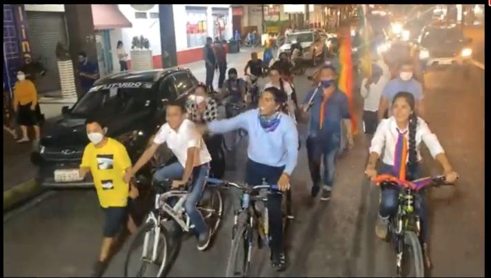 Candidato presidencial visita Los Ríos