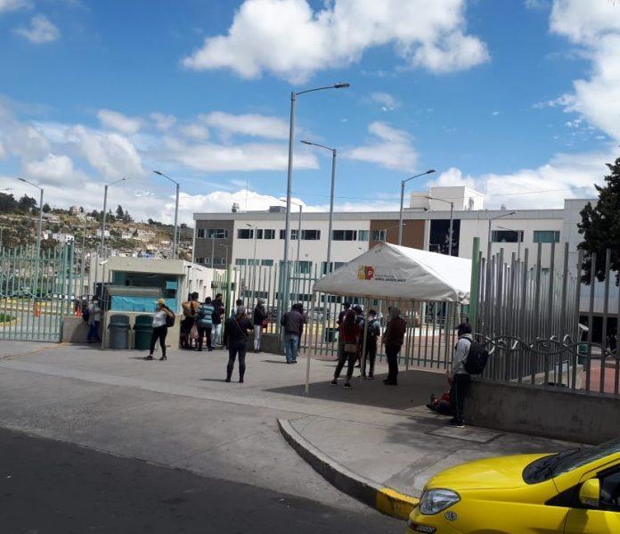 Suspensión de consulta ambulatoria en Ambato Teaching Hospital