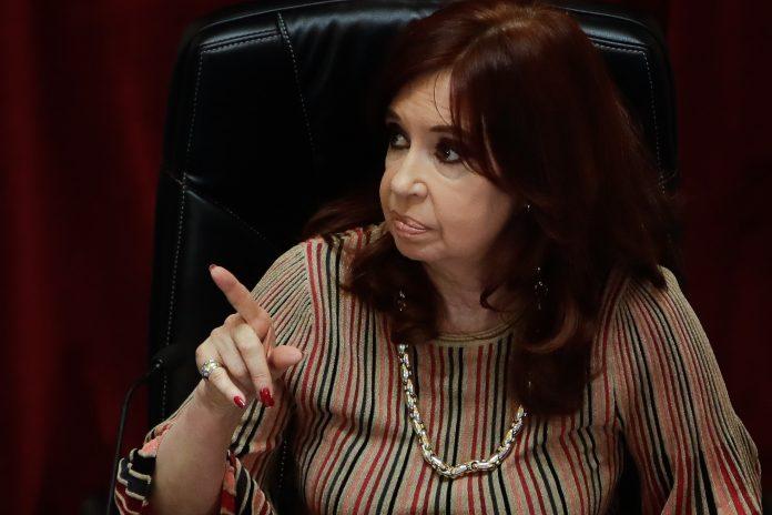 Cristina Fernández de Kirchner, hoy vicepresidenta de Argentina.