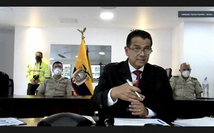 CARGO. En noviembre de 2020, Patricio Pazmiño fue designado como Ministro de Gobierno.