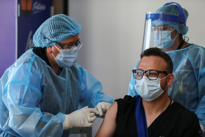 CALENDARIO. El 21 de enero se colocaron las primeras vacunas anticovid en Ecuador.