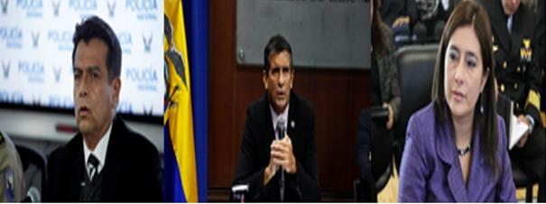 CASO. Piden destitución y juicio político contra Patricio Pazmiño, Edmundo Moncayo y Johana Pesántez.