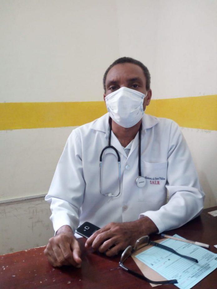 REPRESENTANTE. Julio Valencia Zamora, presidente del Colegio de Médicos de Esmeraldas.