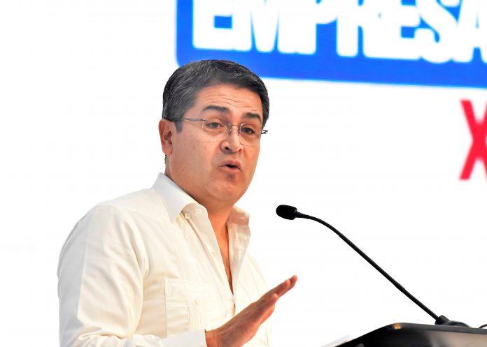 Político. Juan Orlando Hernández ha sido aliado de Estados Unidos desde 2014, con el presidente Barack Obama, y posteriormente con Donald Trump. (EFE)