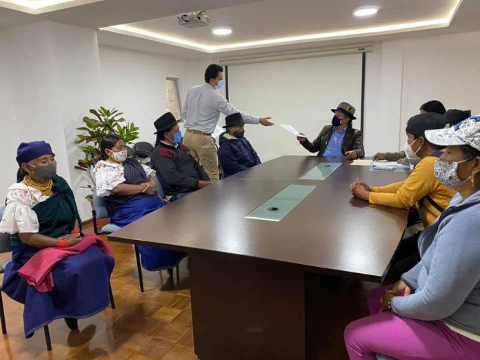 Encuentro. Desde la segunda semana de marzo retomaron los diálogos entre pobladores y el Alcalde. Las citas se pueden agendar en la municipalidad.