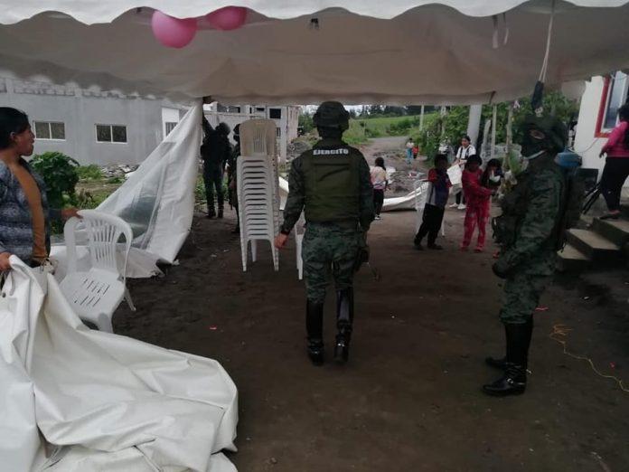 OPERATIVOS. Intervención militar y policial en Otavalo, previo a la organización de fiestas.