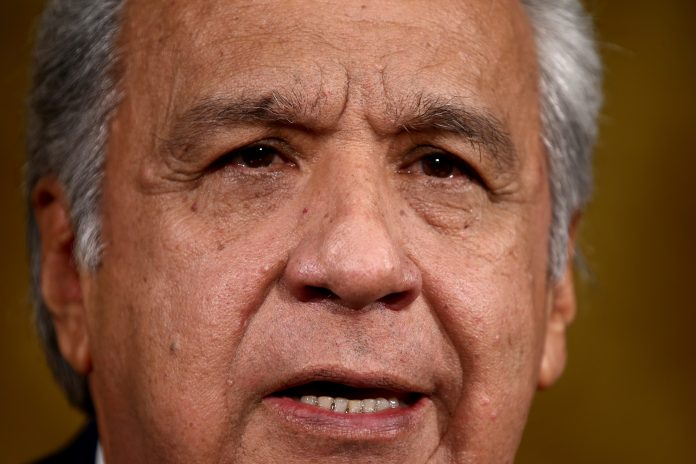 CARGO. El 23 de mayo terminarán las funciones de Lenín Moreno.