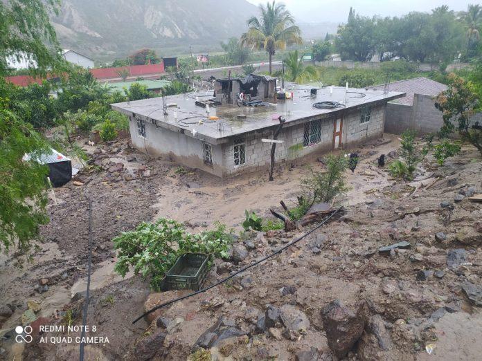Emergencia. Hay 14 afectaciones graves por las lluvias en Ibarra.