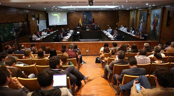 EVENTO. Sesión del Concejo Metropolitano de Quito. Foto. Municipio de Quito