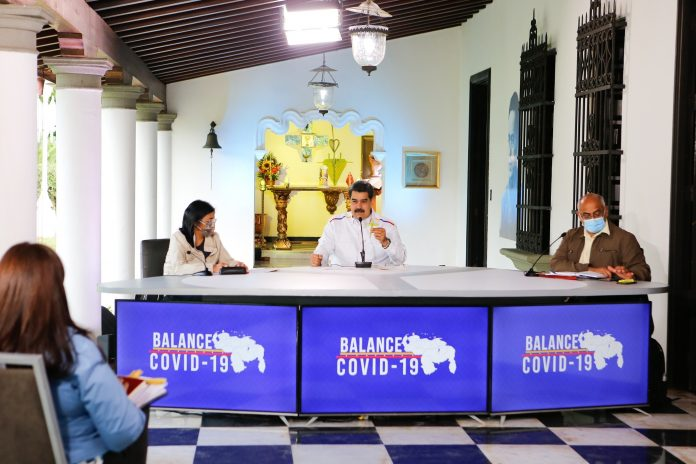 Anuncio. Maduro extendió la propuesta, sin dar mayores detalles, en su mensaje semanal para informar el avance de la pandemia en Venezuela.