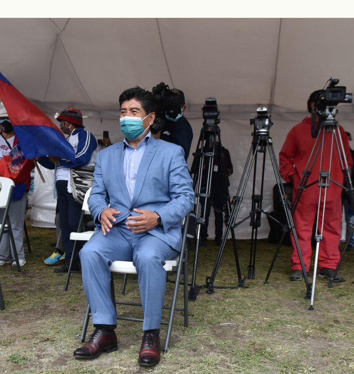 Acción. Jorge Yunda, alcalde de Quito, no convocó a sesión extraordinaria para hoy, 6 de abril de 2021.