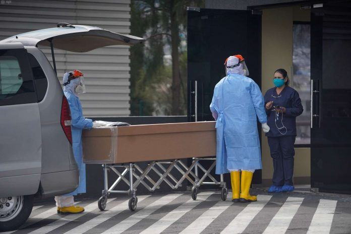 CASO. Pichincha es la provincia con más casos de Covid. El número de fallecidos se incrementó.