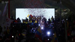 ELECCIONES. Cierre de campaña de Andres Arauz. Foto: APIFOTO / Daniel Molineros.