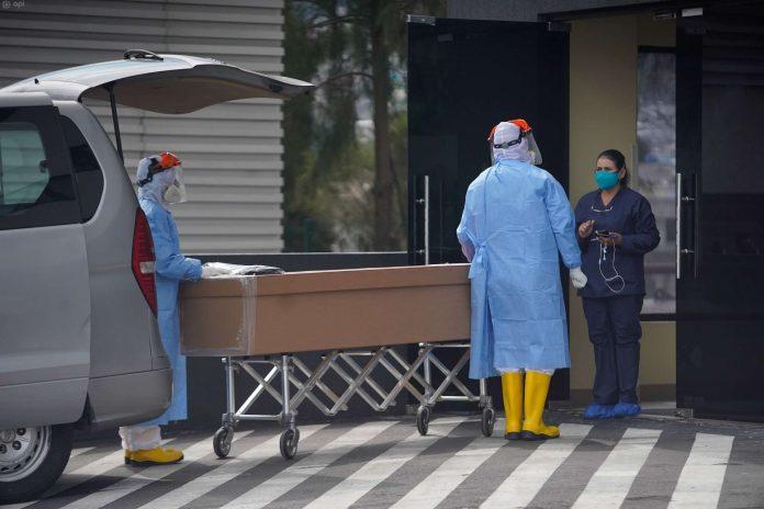 Momento. Ecuador registra de enero a marzo de 2021, un exceso de 10,637 muertes, respecto a los últimos cinco años.