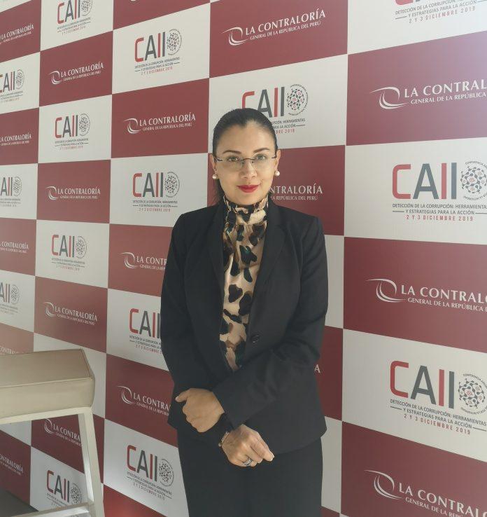 CAMBIOS. Valentina Zárate asumió como nueva contralora subrogante el 14 de mayo de 2021.