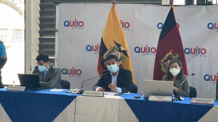 CONTEXTO. En la sesión del 29 de marzo de 2021 se iba a conocer el avance del Metro de Quito, pero no hubo quórum.