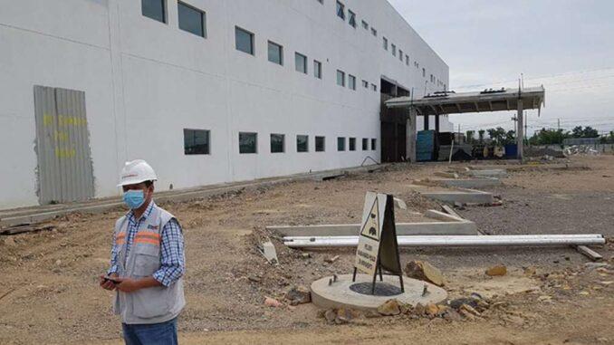La reconstrucción de Manabí y hospital de Pedernales