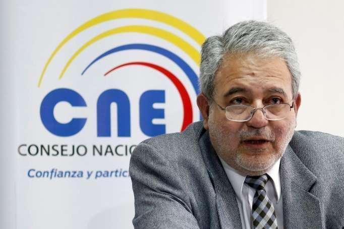 VOCALES. Luis Verdesoto fue nombrado consejero del CNE en noviembre de 2018, por el Consejo de Participación Transitorio. Foto. Archivo La Hora.