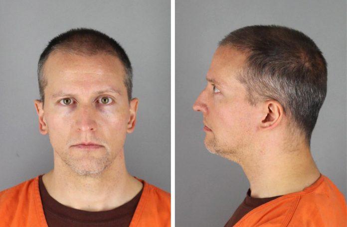 Acusado. Fotografía cedida por la Oficina del Sheriff del condado de Hennepin que muestra al exagente de policía Derek Chauvin, el 12 de junio de 2020. (EFE)