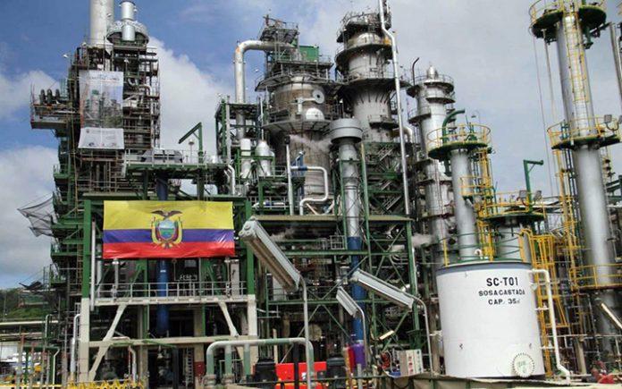 TAREA. Refinería de Esmeraldas encabeza la lista de concesiones