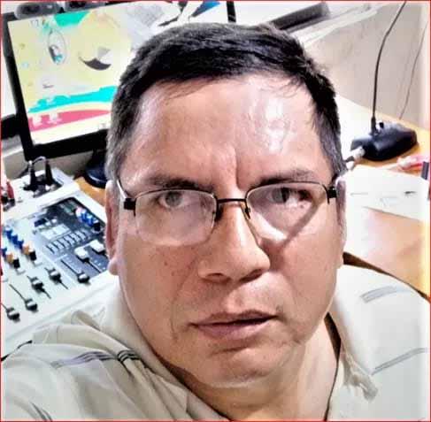PESAR. Hoy falleció el reconocido comunicador social de la parroquia La Unión, Adolfo Márquez Flores.