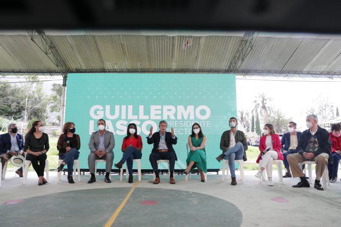 MINISTERIOS. El presidente electo del Ecuador, Guillermo Lasso, presentó a sus primeros ministros el 26 de abril de 2021.