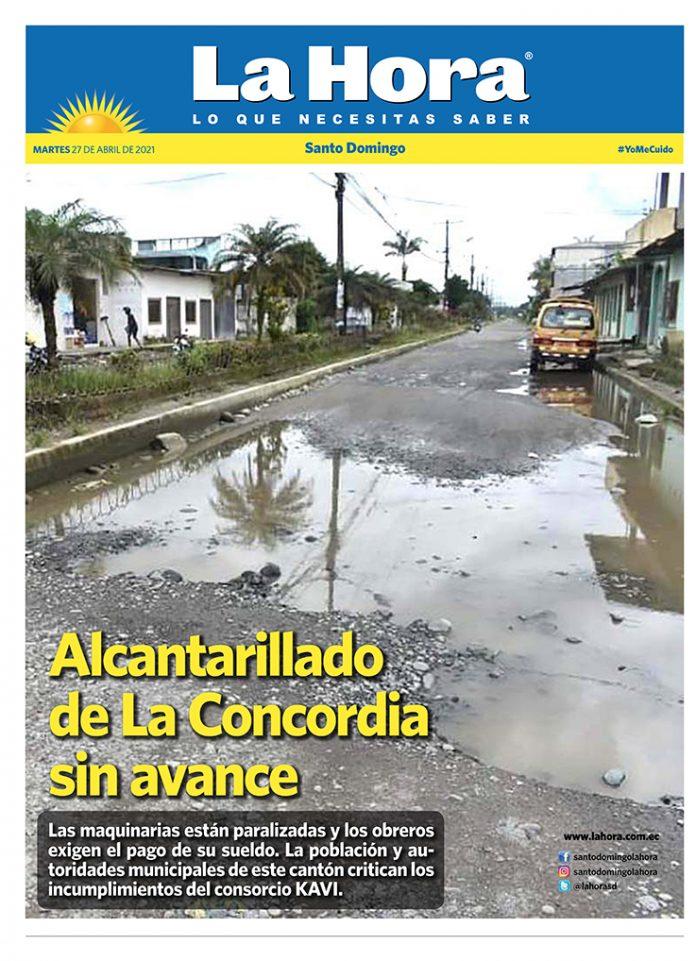 Santo Domingo: 27 de abril, 2021