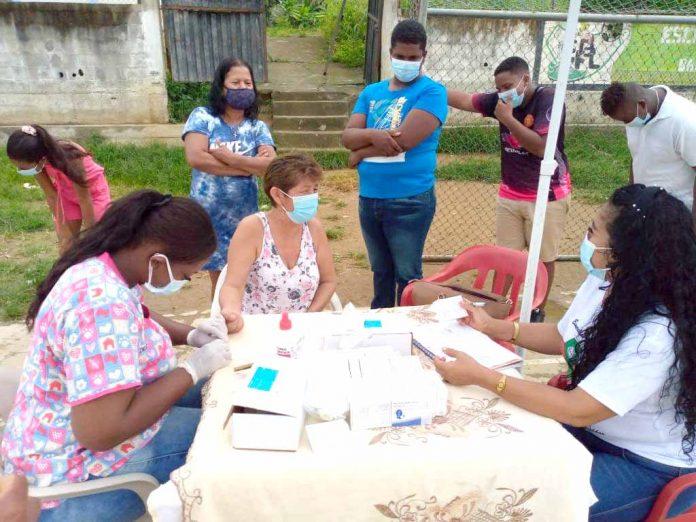 PREVENCIÓN. 50 personas de Barrio Lindo dieron positivo para Coronavirus.