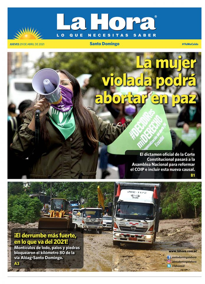 Santo Domingo: 29 de abril, 2021