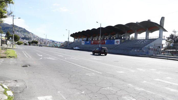 CONFINAMIENTO. Las calles están vacías por segunda vez en el Día del Trabajo. /API