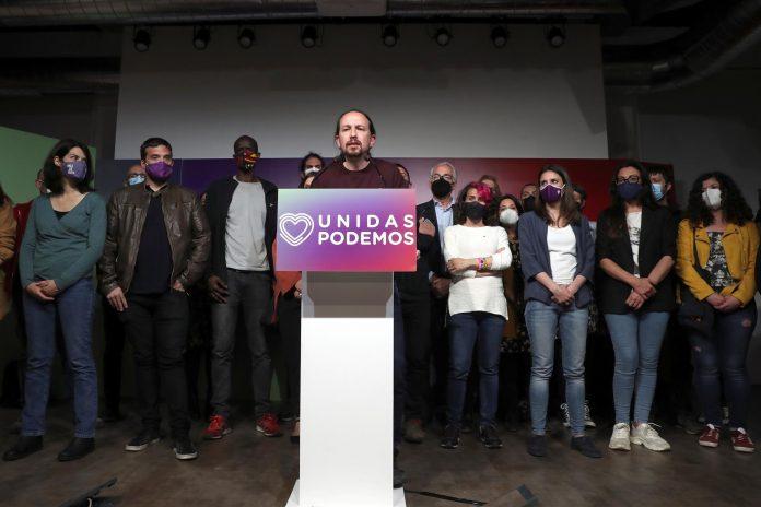 ESPAÑA. El líder de Unidas Podemos y candidato a la presidencia de la Comunidad de Madrid, Pablo Iglesias. EFE