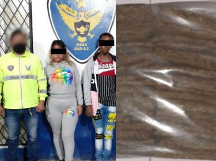Resultado. Más de18 kilos de droga se encontró en bus interprovincial.