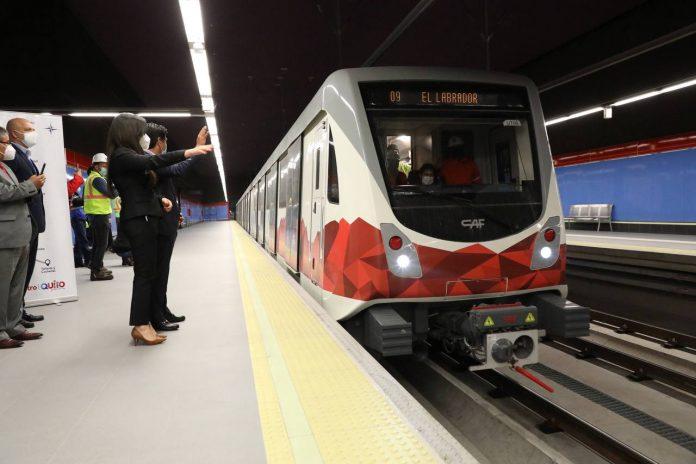 CIRCULACIÓN. El Municipio prevé que la operación del Metro comience en febrero de 2022.