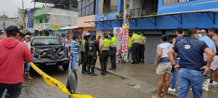 INSEGURIDAD.- Aumentan a 44 las muertes violentas a nivel provincial y en el cantón Esmeraldas a 27 en lo que va del año 2021, según los reportes policiales.