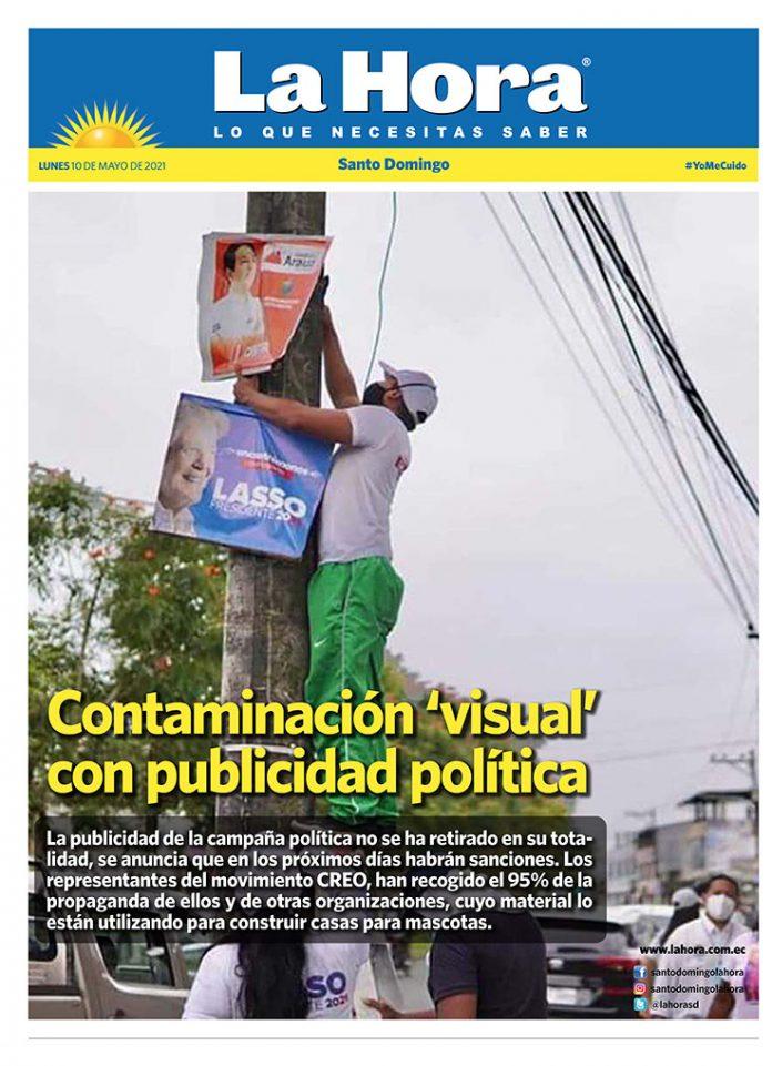 Santo Domingo: 10 de mayo, 2021