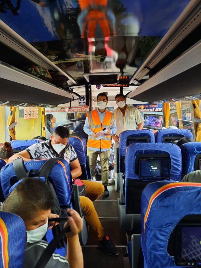 Referencia. La ANT aprobó el incremento de pasajes desde el 1 de mayo de 2021.