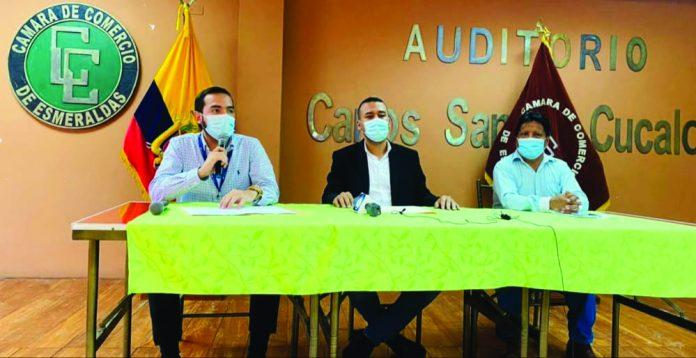 PROTECCIÓN. Comerciantes piden a las autoridades locales y nacionales se los considere como grupos prioritarios para recibir la vacuna del Covid-19.