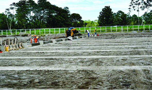 Terminal terrestre de Quinindé tiene un avance de 35%