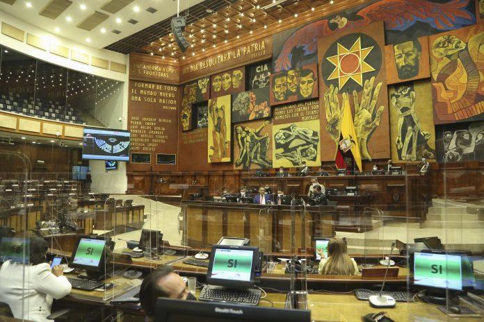 TRANSICIÓN. La Asamblea Nacional elegirá a sus nuevas autoridades en la primera sesión de su cuarto período legislativo. Foto: Cortesía Asamblea Nacional.