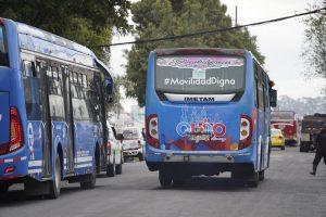 QUITO. El paro de transportistas duró dos días en la Capital.