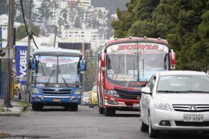 BUSES. El transporte público retomó sus actividades el miércoles 12 de mayo de 2021.
