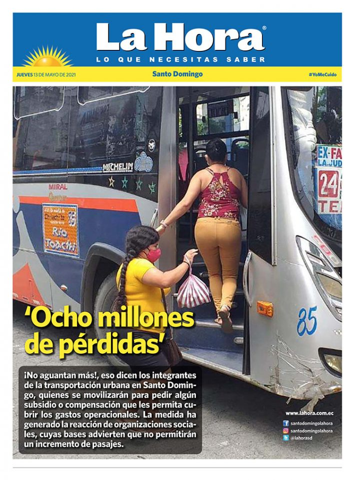 Santo Domingo: 13 de mayo, 2021