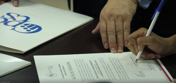 El Consejo de Participación Ciudadana y Control Social se creó en el 2008, por mandato constitucional. En la imagen una sesión del plenaria en octubre de 2019. Foto: Cortesía CPCCS.