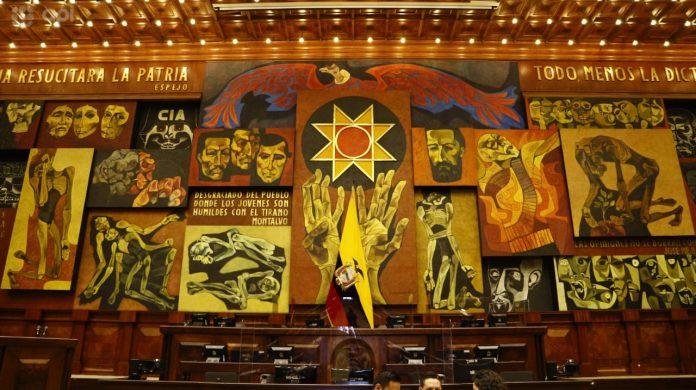 La primera sesión del cuarto período de la Asamblea Nacional será este 14 de mayo, en plena pandemia. Foto API