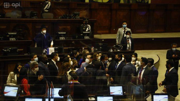 La primera sesión del cuarto período de la Asamblea Nacional se realizó el 14 de mayo de 2021. Foto API