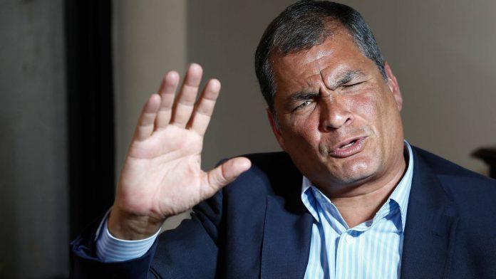Rafael Correa, expresidente del Ecuador.