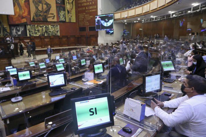 PARLAMENTO. Este martes 18 de mayo, 137 legisladores ecuatorianos serán designados en cada una de las 15 comisiones de la Asamblea Nacional.