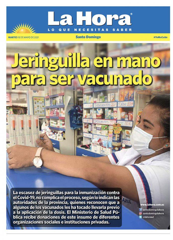 Santo Domingo: 18 de mayo, 2021