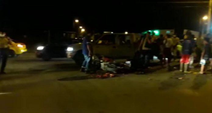 PERCANCE. Según una moradora, el deficiente alumbrado público sería la causa de los accidentes en Wínchele.